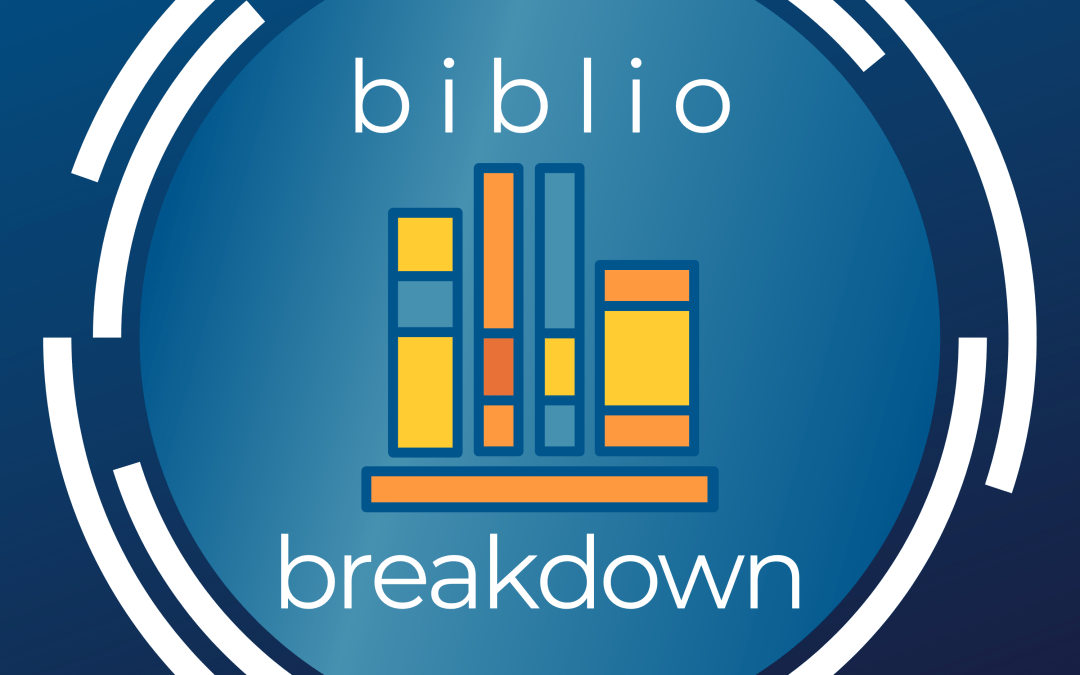 Keeping Readers on Their Toes – Biblio Breakdown 007