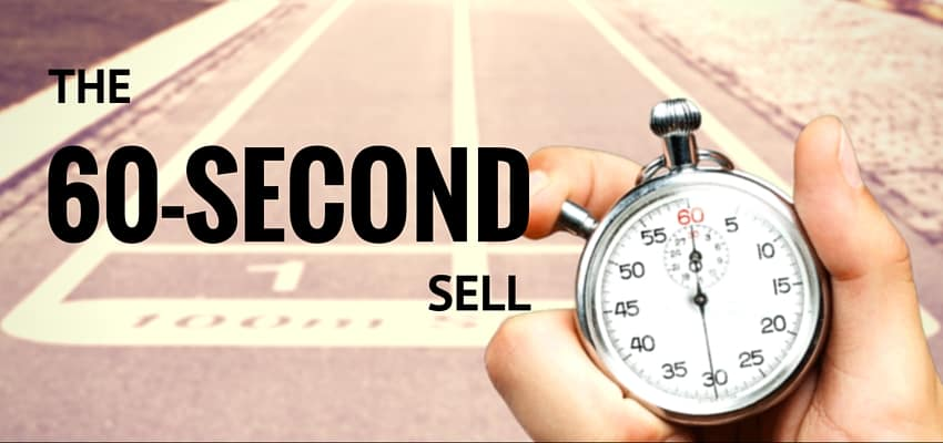 60-SECOND SELL