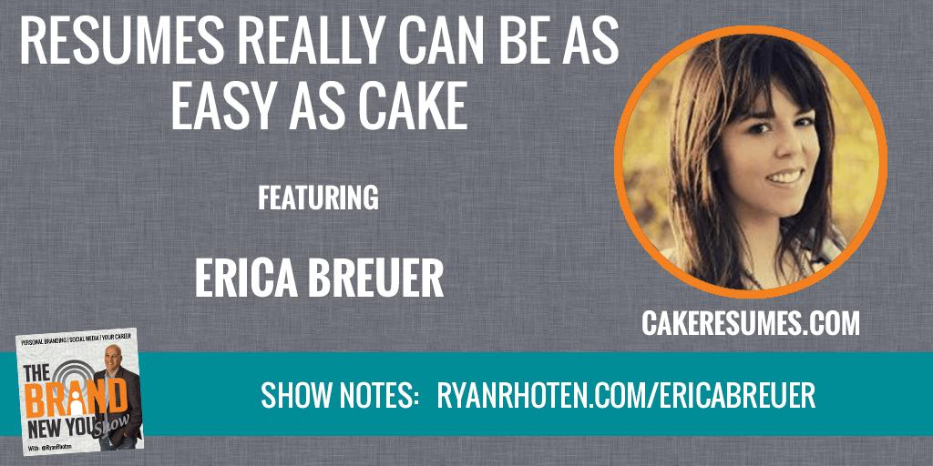 Erica Breuer Cake Resume