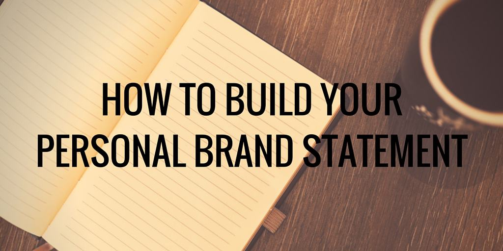 Use This Personal Branding Statement Worksheet To Create Your Tagline