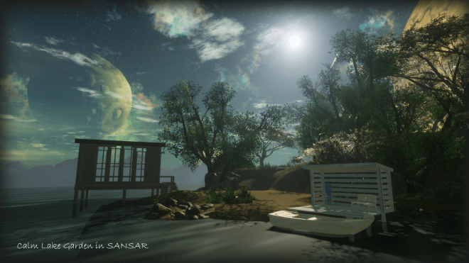 Calm Lake Garden Sansar 21 August 2017