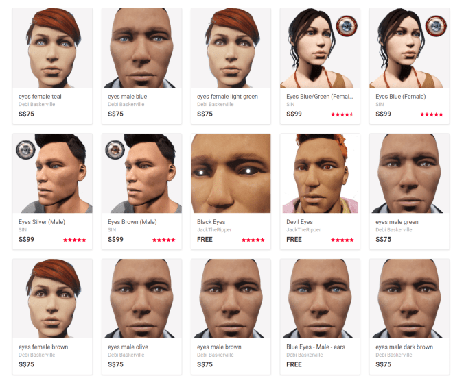 Eyes on the Sansar Store 23 Oct 2017