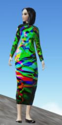 Cloud Party Colorful Dress