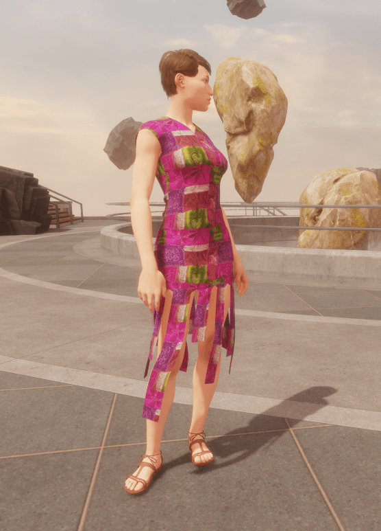 Funky Purple Patchwork Dress.png