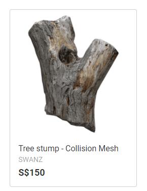 SWANZ tree stump