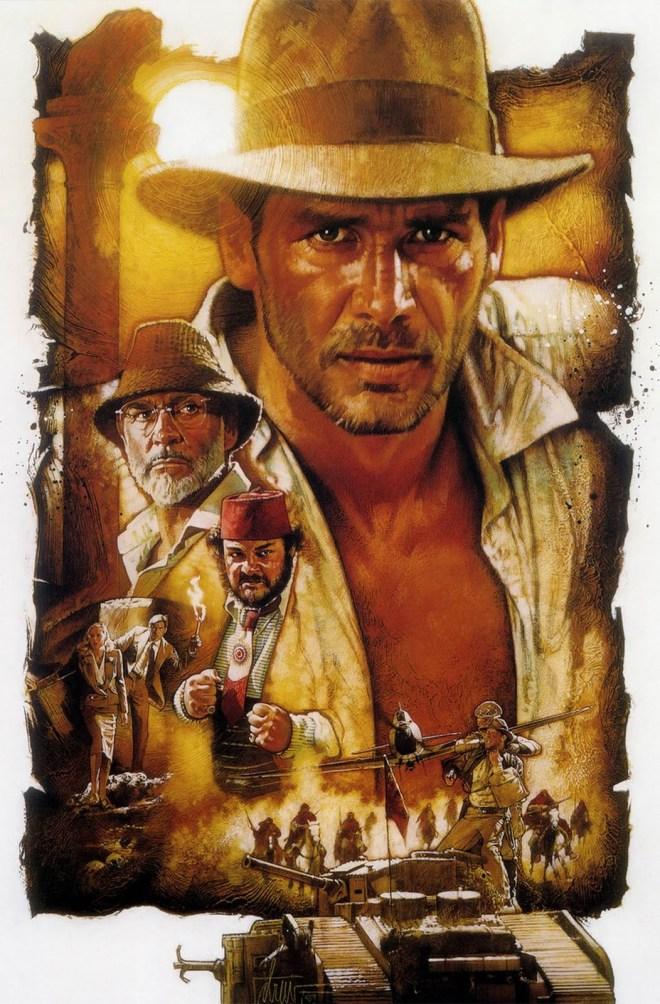 Indiana Jones movie poster