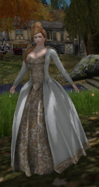 Scarborough Fair Lady Ariana Gown 20 Apr 2018