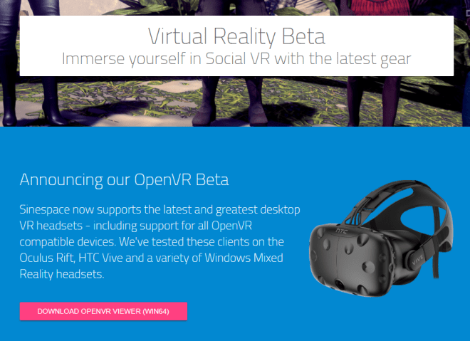 Sinespace VR Beta 21 May 2018.png