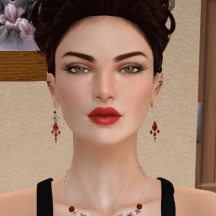 J&W Jewelers The Secret of Jade Necklace and Earrings
