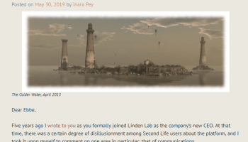UPDATED! Linden Lab Announces a Mix of Good News and Bad
