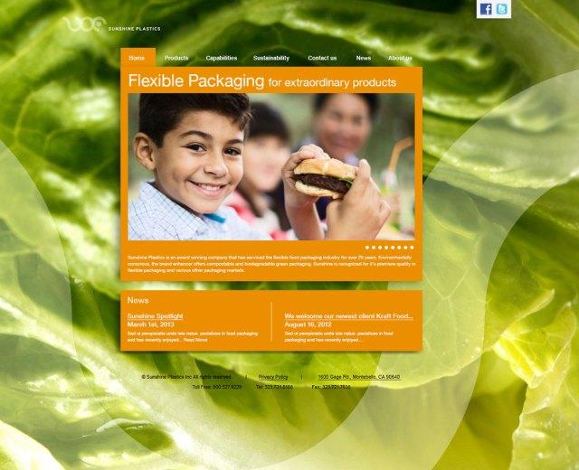 Sunshine Plastics Website