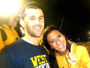 Ryan takes Kari to a WVU football game. It is the last time she ever saw him before the attack.