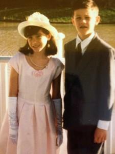 Kari and Ryan Diviney Dressed Up