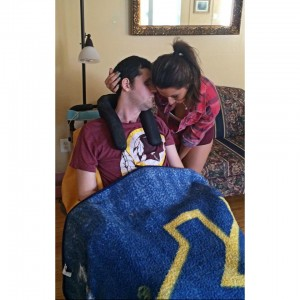 Ryan and Kari on his 25th birthday.