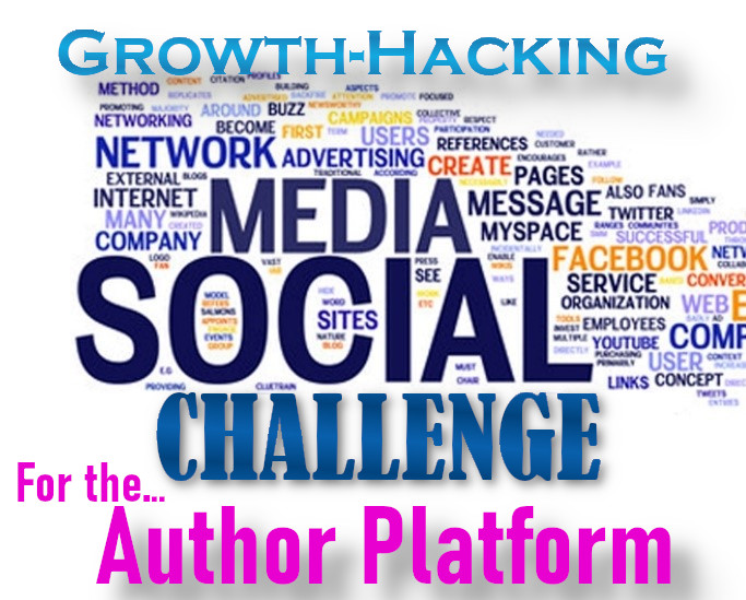 This is the 2021 Q4 Growth Hacker Marketing: Author Platform Social Media Challenge! Can you complete all tasks for authors in 12 weeks?