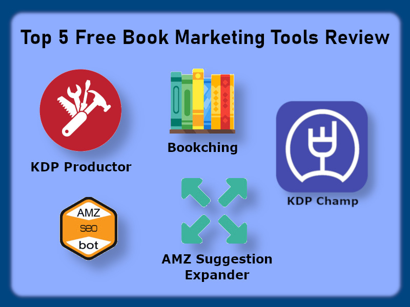 5 Best Free Book Marketing Tools Review