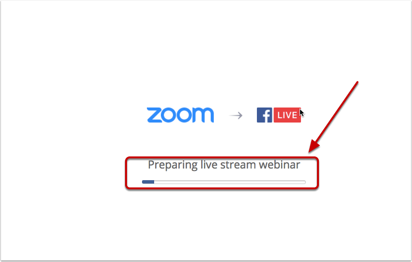 Step by step guide on how to do Zoom webinar live video