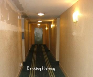 Existing Hallway