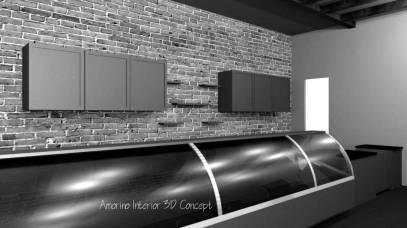 Amorino Interior 3D Concept