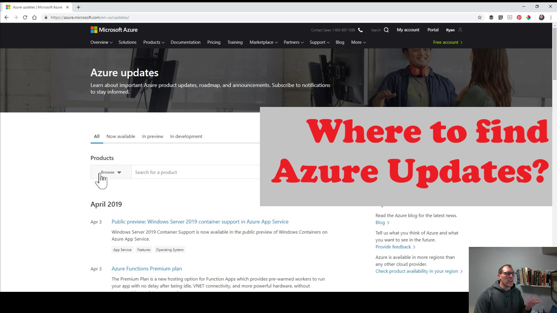 Latest-Azure-Updates