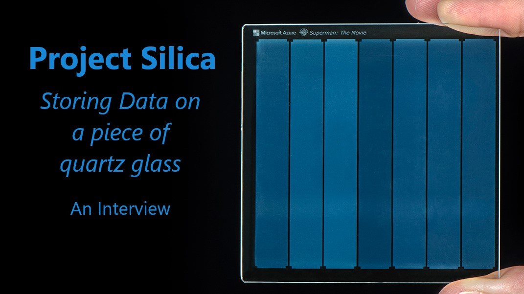 Project Silica - An Interview