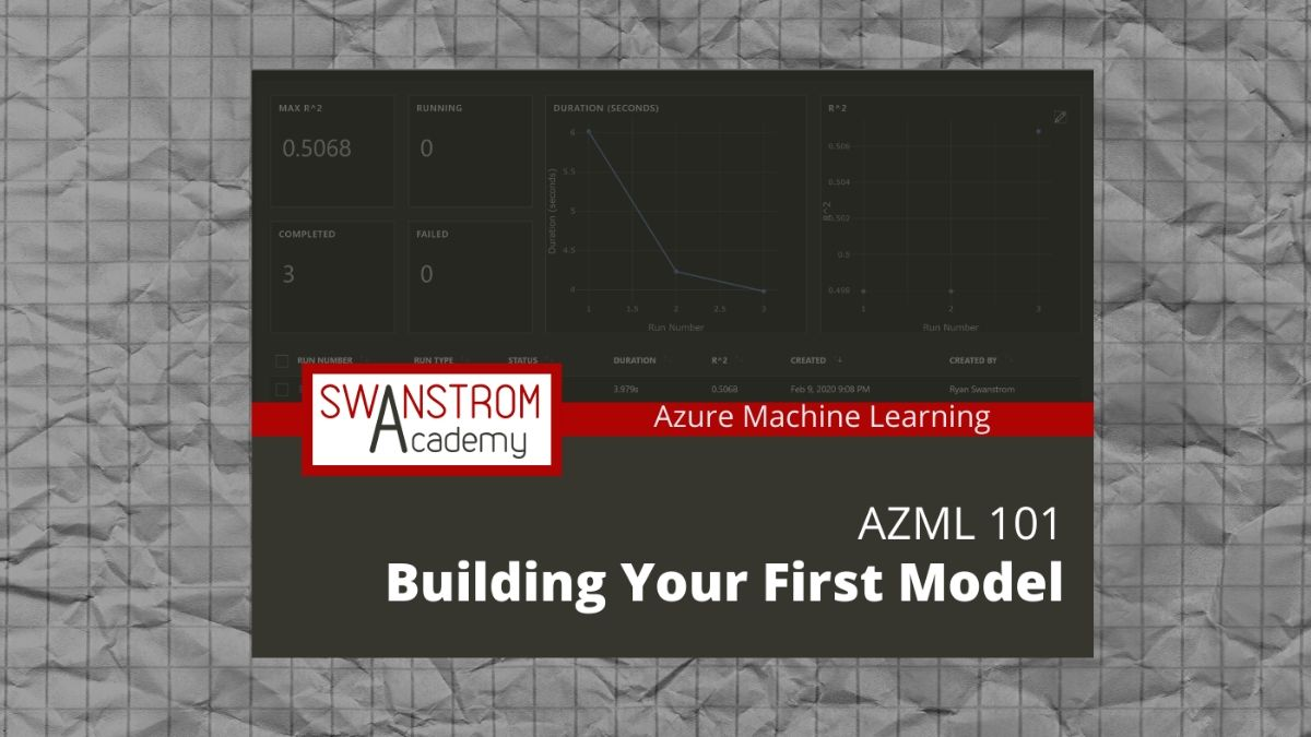 Building Your First Model with Azure Machine Learning Course