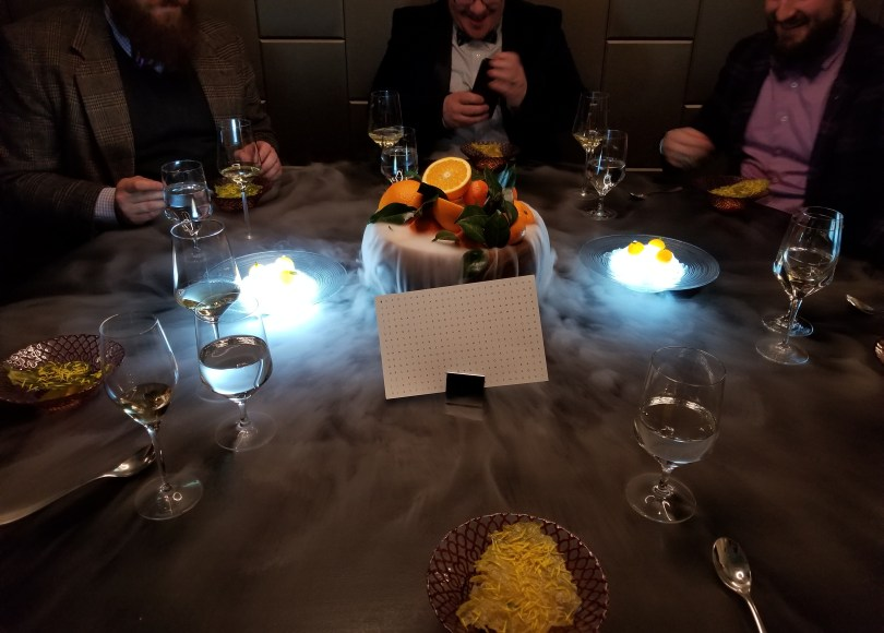 Experiencing The Kitchen Table At Alinea Ryan Travels And Eats