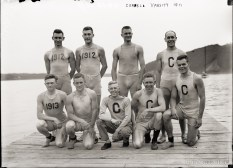 Cornell's Varsity Rowing Team, 1911