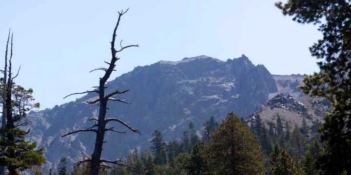 Hiking In Lassen; Crag Lake (Chaos Crags)