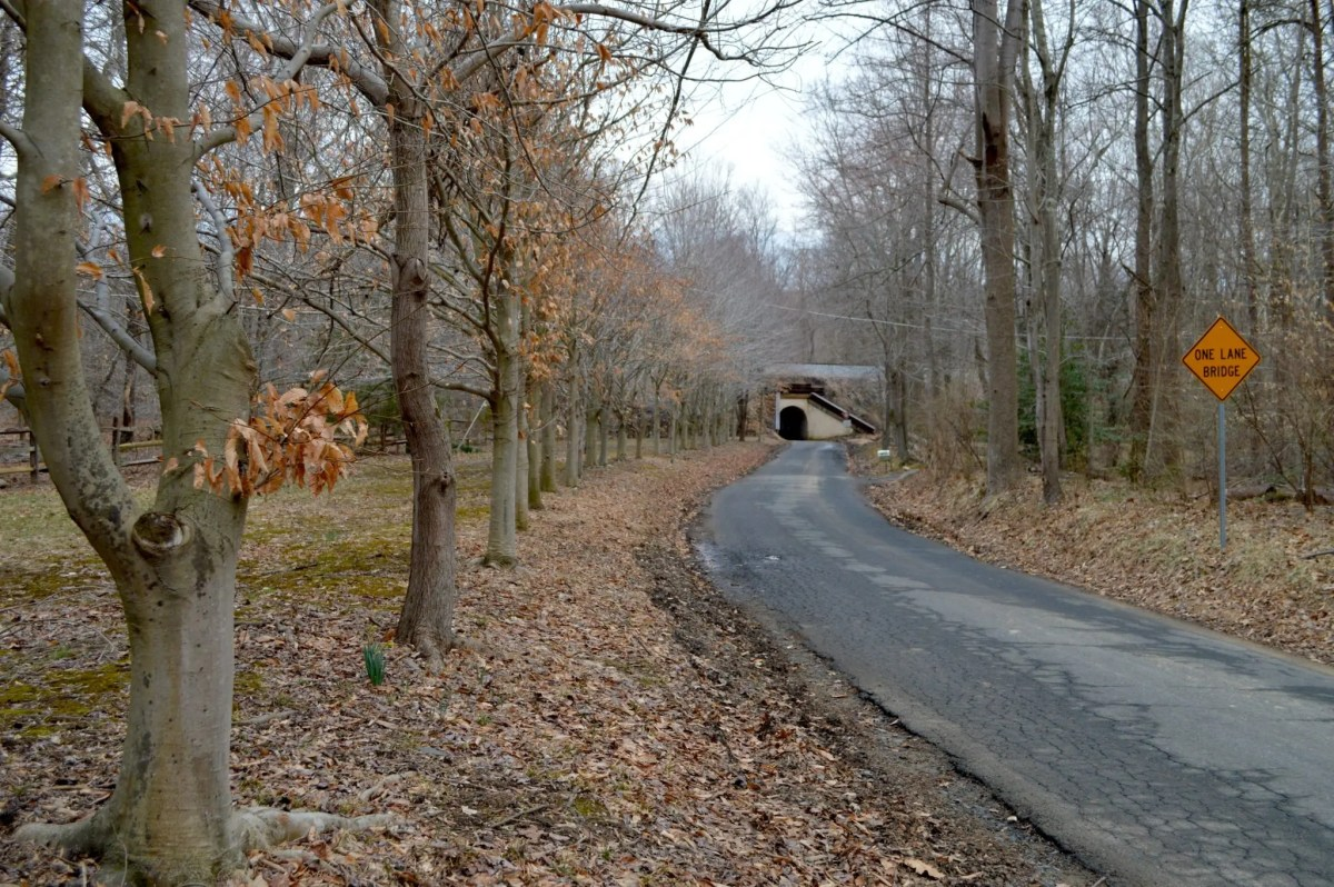 Bunnyman Bridge in Clifton, Va. Photograph by Ryan Weisser.