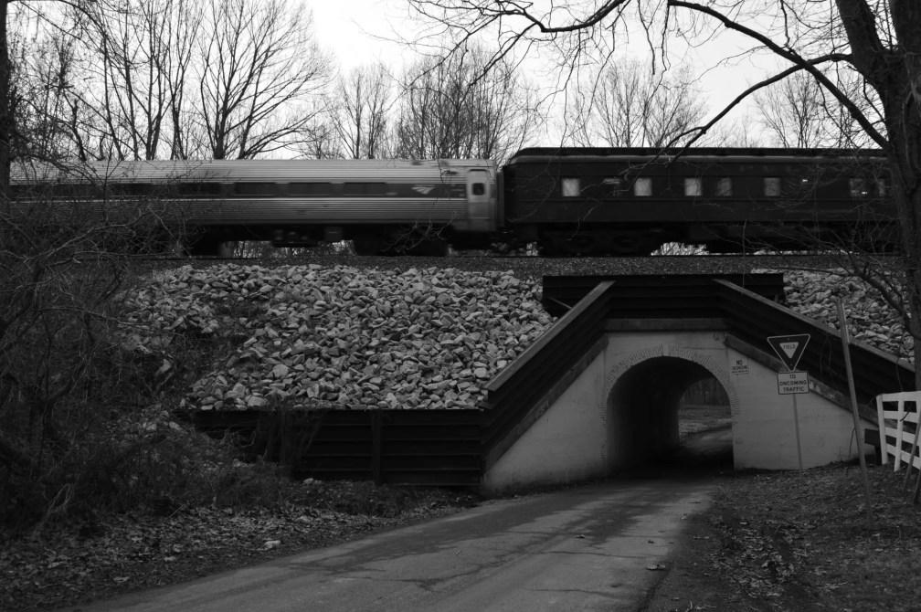 Bunnyman Bridge in Clifton, Va. Photograph by Ryan Weisser.
