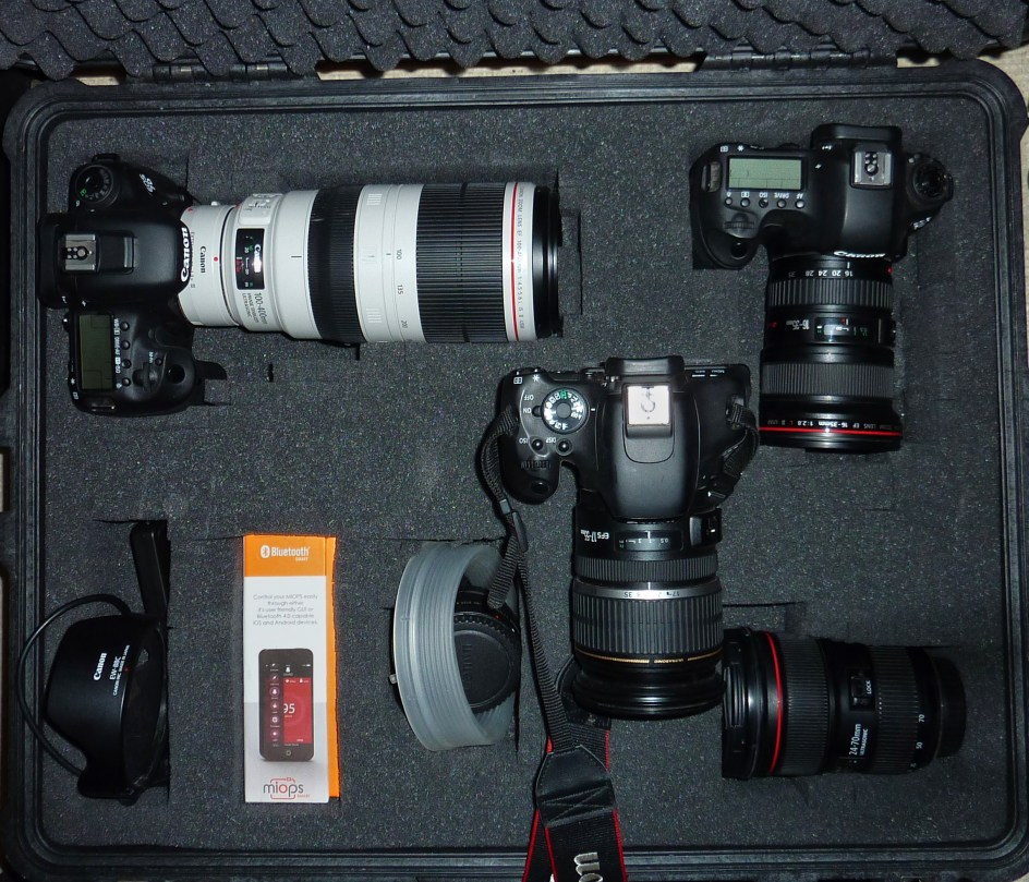 Canon Camera gear for storm chasing