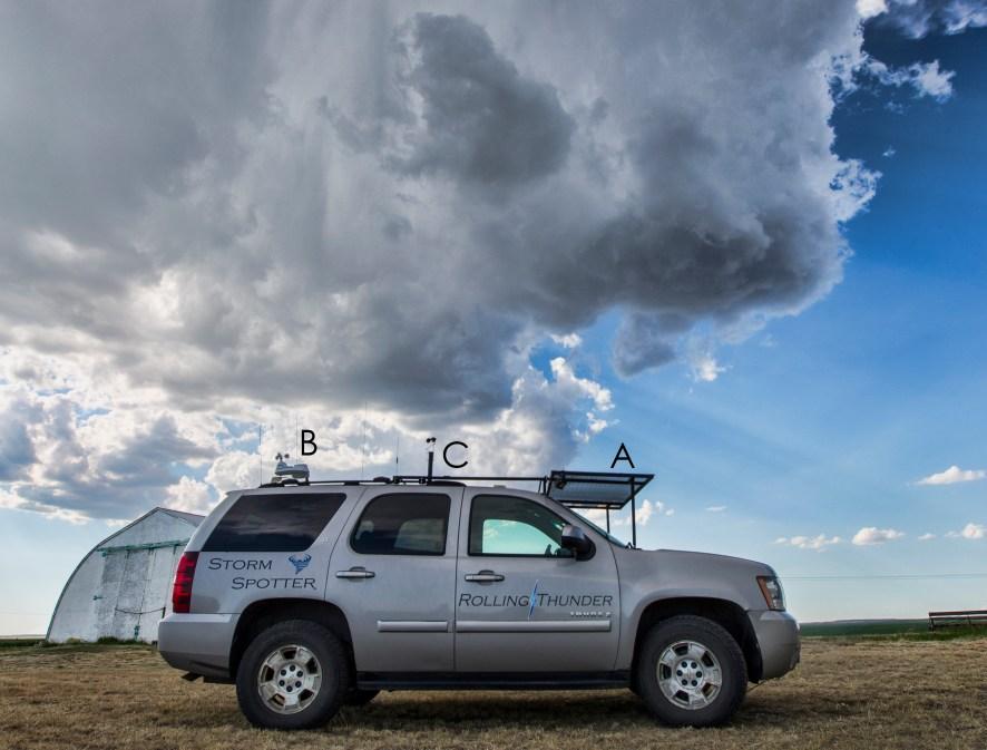 Stormchaser Chase truck