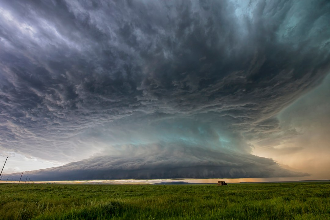 Montana mothership supercell thunderstorm ryan wunsch