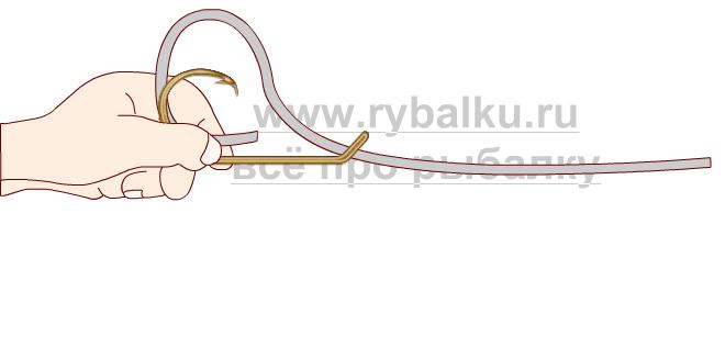 Балық аулау Түйіндер - Hook Pence 1-суретін қалай байланыстыруға болады