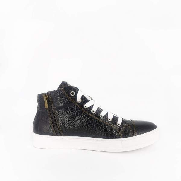 Inky Black coco leather RYC & RICH-YCLED Handmade Shoes From Italy €370