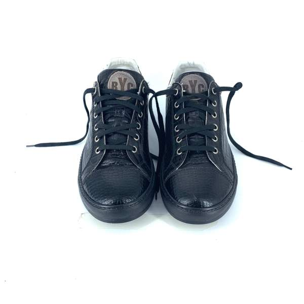 Shiny black coco leather RYC & RICH-YCLED Handmade Shoes From Italy €270