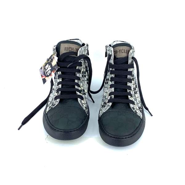 PIQUADRO PIEDIPUL with black couture leather RYC & RICH-YCLED Handmade Shoes From Italy €295