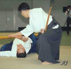 Seigo Yamaguchi Sensei (1924-1996) (Photo by Aikido Journal)