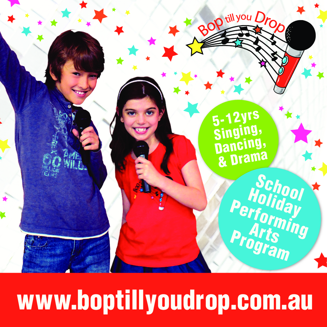 Bop till you Drop – September School Holidays