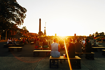 Campfire Sessions on Cockatoo Island