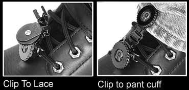 Biker stirrups Laced instructions