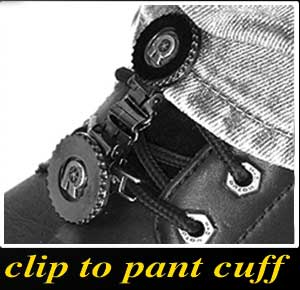 Clip to pant cuff