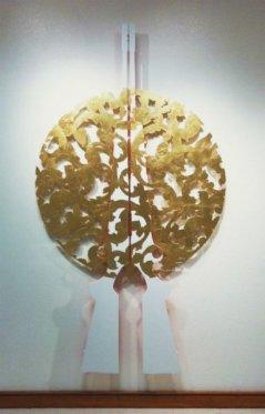5-disruption-seduction-gold-leaf-acrylic-on-wood-84x48x5-in