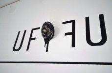 UFOFU_ acrylic, hydrostone, black wax
