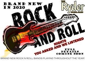 Brand New in 2020 Rock n Roll evenings
