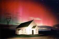 The Southern lights from Invercargill