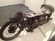 1 of 2 working replicas of Burt Munro's bike