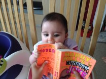 obviously better to eat than read!