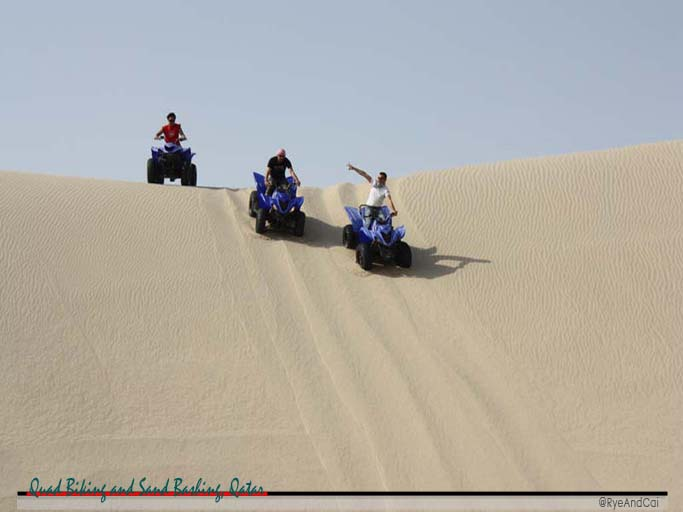 We all know that before development, Qatar is a desert area. Although it now boasts of large buildings and some greenery, there are still some areas with very few vegetation and just miles of sand. Some areas even have hill-sized formation of sand which are called Sand Dunes. Whether you are a resident or just visiting Qatar, Bashing Sand in one of these Sand Dunes and riding a Quad Bike is a must-do in Qatar.